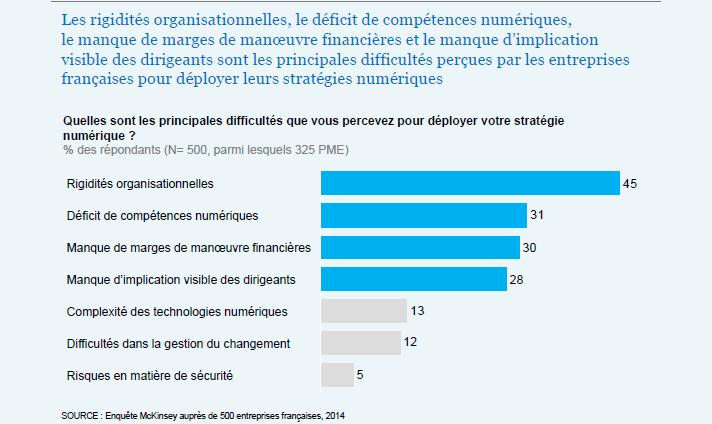 digitalisation des pme françaises la rigidité des entreprises face au digital