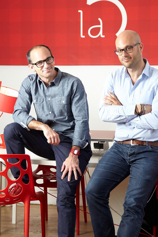 Alexandre ALLOUL et David COHEN, co-fondateurs de l'Agence La 5ème Étape Paris